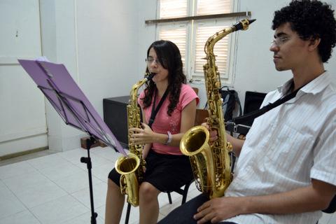 Aula de Saxofone