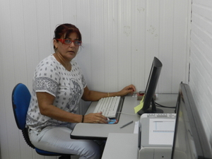Secretaria do DCSP Francisca