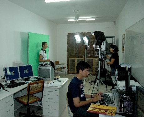 Laboratório de Audiovisual do DECOM