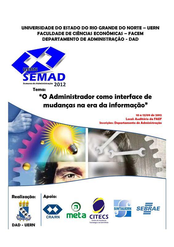 Banner - Semana de Administração 2012