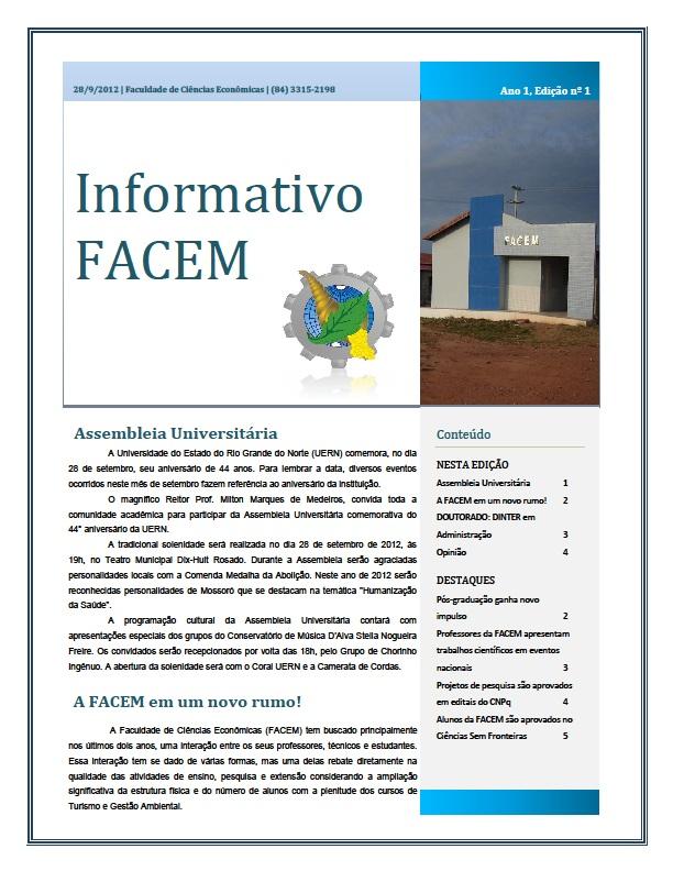 Informativo FACEM