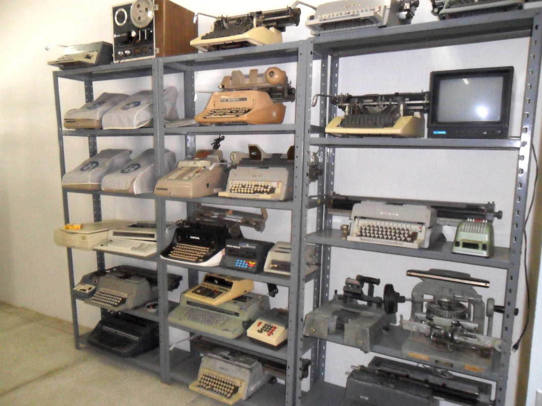 Foto do Museu Histórico de Tecnológico do CAP