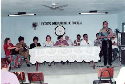Foto do I Encontro Intermunicipal de Educação