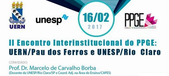II Encontro Interinstitucional